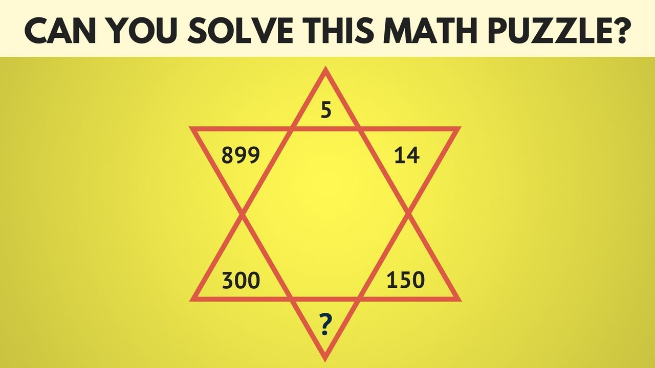 Can you Solve this Math Puzzle | The Most Difficult Math Puzzle Game |  Maths Puzzles with Answers