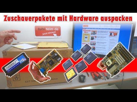 Zuschauerpakete mit Hardware auspacken - 2x DOM - Mainboards - 6x CPU - HDDs - Grafikkarten - [4K]