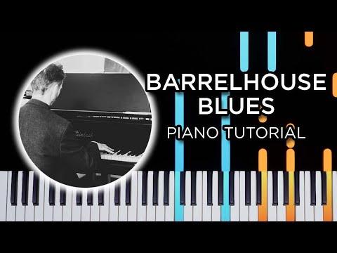 Barrelhouse Blues - Blues Piano Tutorial
