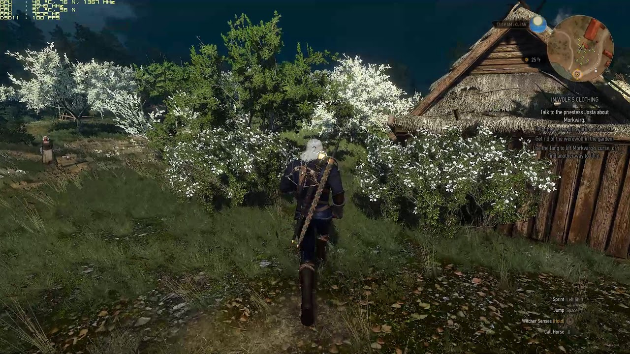 The Witcher 3 Lighting mod comparison