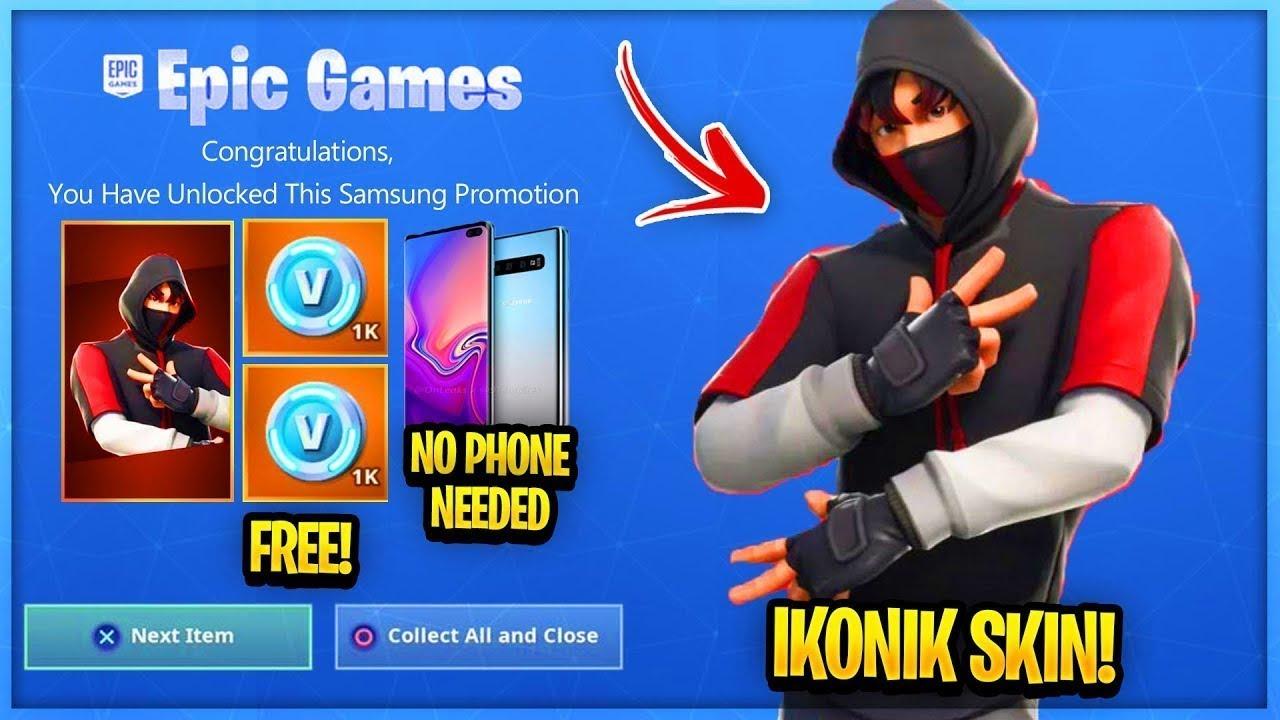How To Get IKONIK SKIN FOR FREE In Fortnite! Fortnite ...