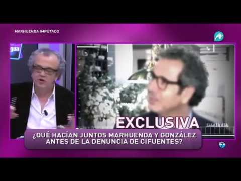 EXCLUSIVA. Imágenes de la comida secreta entre Marhuenda e Ignacio González