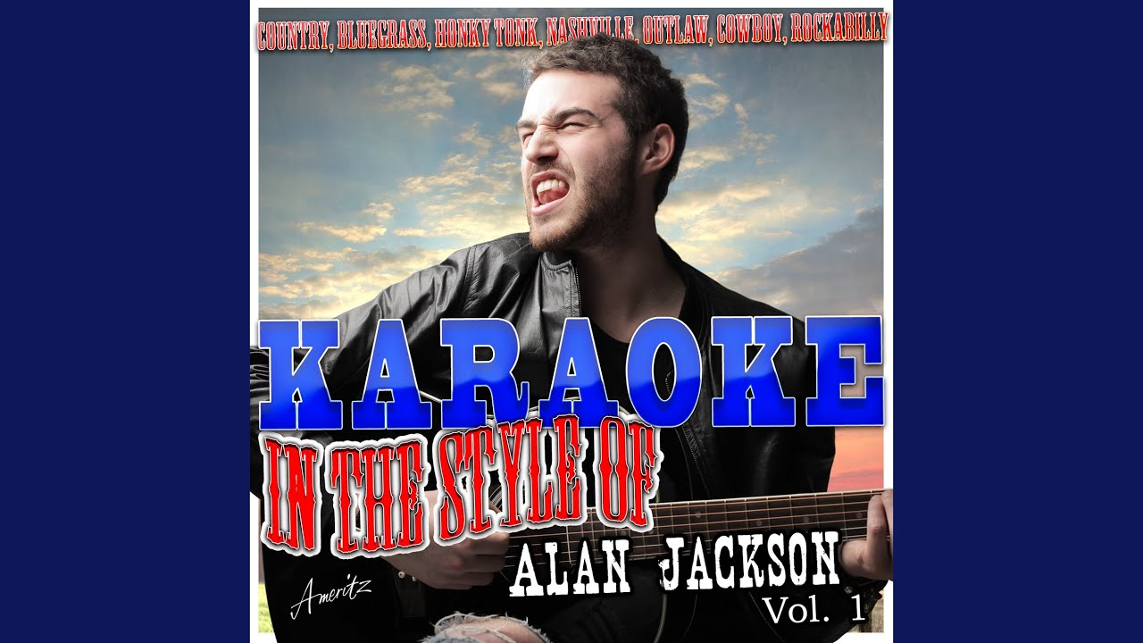 honky tonk christmas in the style of alan jackson karaoke version - Alan Jackson Honky Tonk Christmas