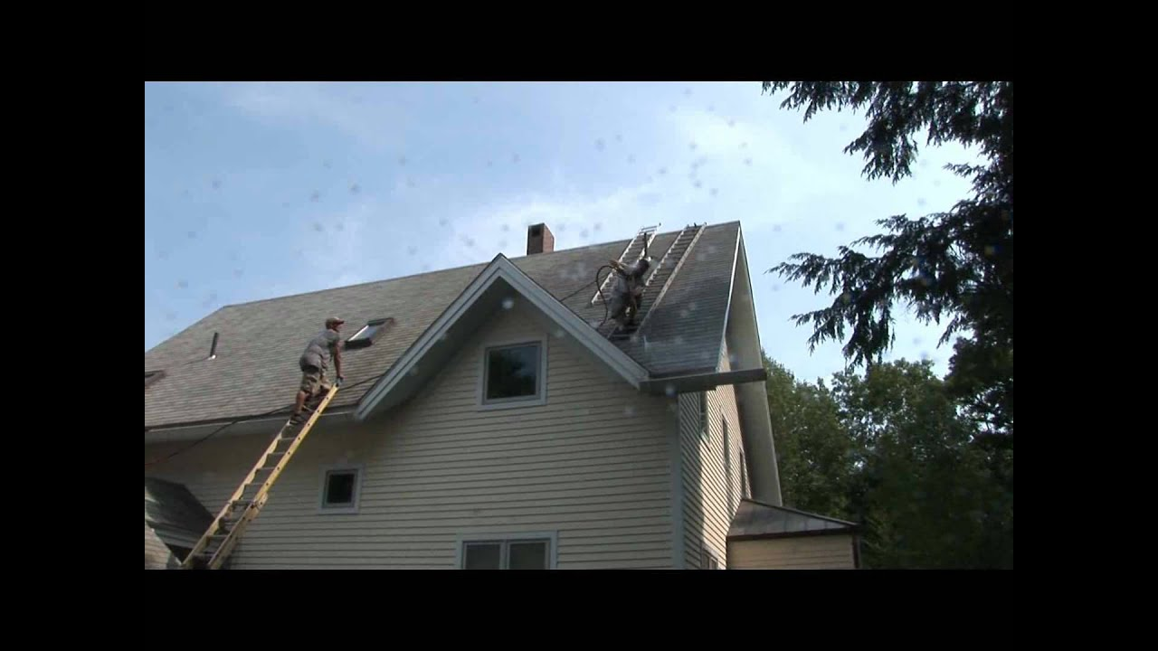Roof Cleaning South Portland Maine