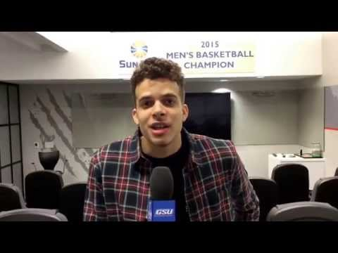 GSU MBB: R.J. Hunter talking about his decision to enter the NBA Draft after his junior year.