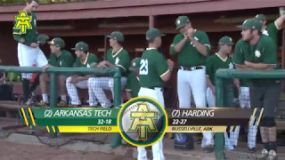 Tech Baseball vs. Harding Highlights - 5/5/17