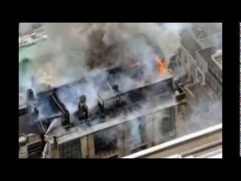 В шотландском Глазго от сильного пожара пострадало здание Школы искусств