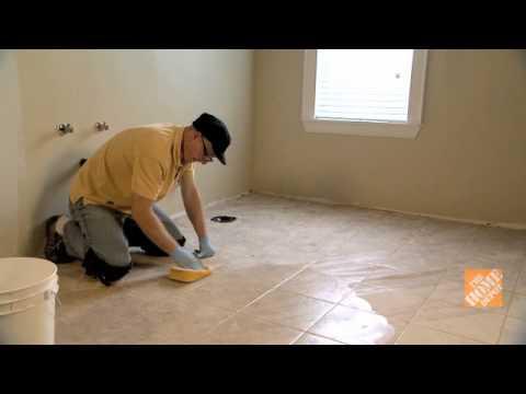 Cmo enlechar un piso de baldosas  YouTube
