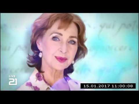 Christine Kaufmann bei Channel21 am 15.01.2017 - Teil 1