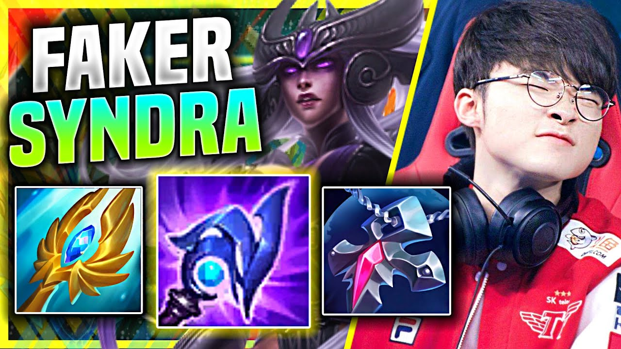 FAKER IS SO CLEAN WITH SYNDRA! - T1 Faker Plays Syndra Mid vs Fizz! | Season 11