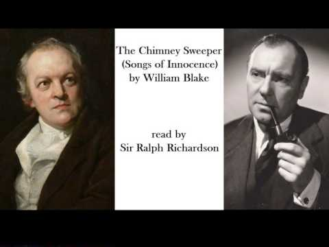 The Chimney Sweeper (Songs of Innocence) by William Blake read by Ralph Richardson