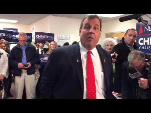 Christie Blows Off Iowa Flop