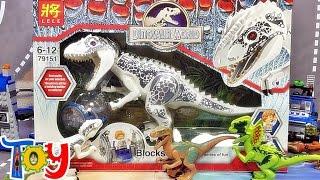 lele 쥬라기월드 인도미너스 렉스 공룡 다이노 레고 짝퉁 피겨 Lego knockoff jurassic world indominus rex dino