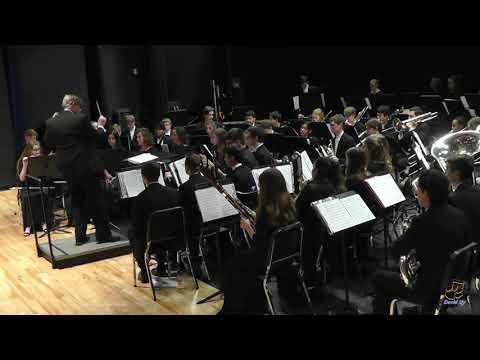 Apex Friendship High School Wind Ensemble Performs Esprit De Corps On 3/28/2019