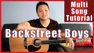 Backstreet Boys | Multi-Song Guitar Tutorial