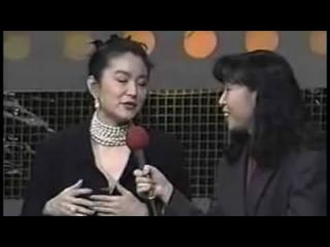 Brigitte Lin(林青霞) in Korea 1993 Part 2