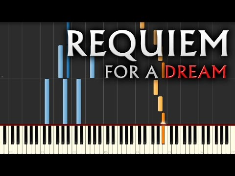 Requiem for a Dream - EASY Piano Tutorial by PlutaX
