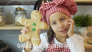 Galletas de jengibre | Cocina para niños | Recetas para niños | Cocina con niños | Niños cocinando