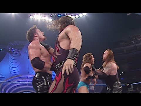 Smackdown 2001 WCW Tag Titles Undertaker & Kane vs Chuck Palumbo & Sean  O'Haire - YouTube