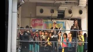 平成23年5月15日アメリカ村CHANNEL LIVE KID'S ダンスコンテストで優勝...