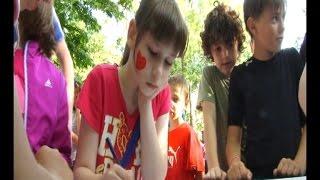 В Анапе заработали летние дворовые площадки для детей