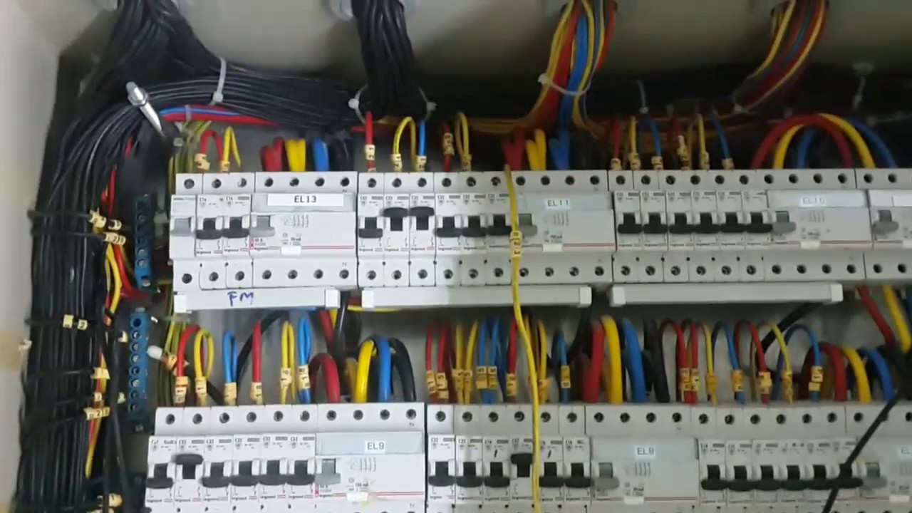 Electrical DB Dressing - YouTube