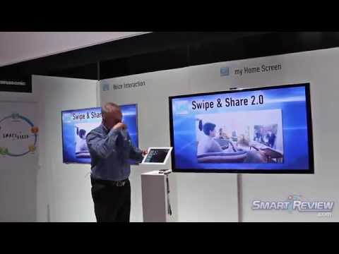 CES 2013 | Panasonic HDTV Lineup | Latest Smart Viera LED and Plasma