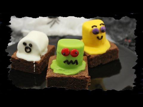 Halloween Week #4: Monster-Brownies
