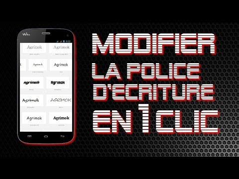 [Astuce] Modifier la police d'écriture de votre Smartphone en 1 Clic !