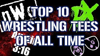 Top 10 Best Selling T-shirts Of All Time In Professional Wrestling