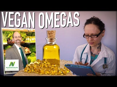 How to Get Omega 3 On A Vegan Diet | Dr  Michael Greger of Nutritionfacts.org