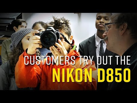 Customers Try Out the Nikon D850! | B&H Store