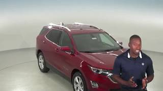 183037 - New, 2018, Chevrolet Equinox, SUV, Red, Test Drive, Review, For Sale -