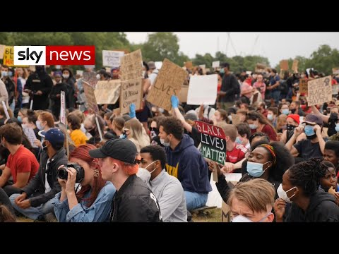 UK government urges people not to protest due to COVID-19
