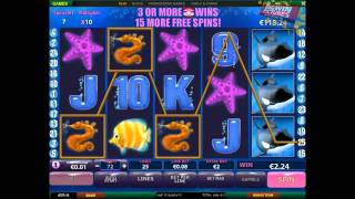 Great Blue Slot - ULTRA BIG WIN!(Hundreds of more videos: https://bigwinpictures.com/ +1000x Total bet win during free spins on Playtech's Great Blue slot!, 2015-12-15T16:35:27.000Z)
