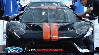 Ford GT: Job One Ceremony in Ontario | Ford GT | Ford Performance