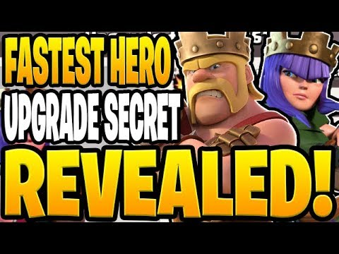 THE BIGGEST SECRET TO UPGRADE YOUR HEROES FAST! - Let's Play TH9 - Clash Of Clans