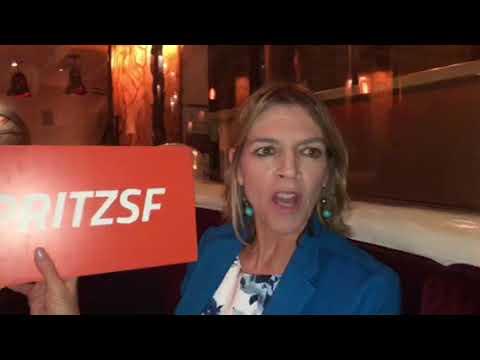 At Farralon SF Restaurant With Spritz SF Team Friday Happy Hour