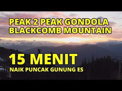Peak 2 Peak Gondola To Blackcomb Mountain, Whistler, Canada