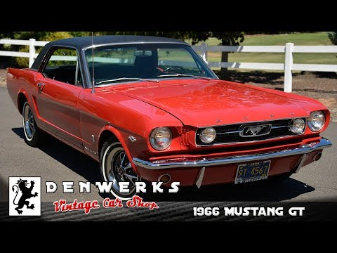 1966 Mustang GT Bring a Trailer Auction