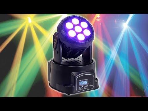 Ibiza LHM350LED Mini Moving Head Light Effect LED Stage DJ Professional