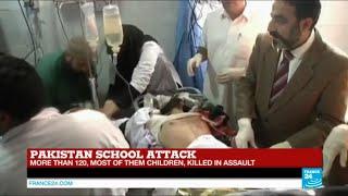 Pakistan school attack: more than 130 dead in Taliban attack, most of them children - TALIBAN