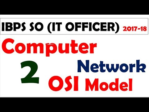 IBPS SO IT OFFICER MCQ - computer network mcq for sbi and ibps -  part -2