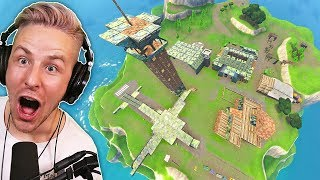 The FORTNITE SPAWN INSEL completely rebuilt (by BUG there LANDEN)!