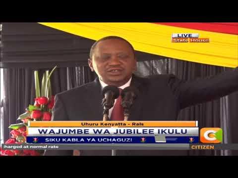 Citizen Extra : Wajumbe wa chama cha Jubilee wakutana Ikulu ya Nairobi