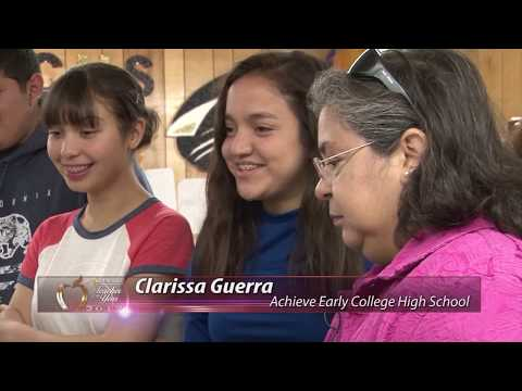 Clarissa Guerra, 2017 Teacher of the Year from Achieve Early College High School