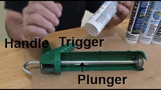 How to Set Up and Use a Caulking Gun