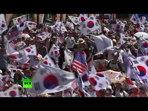 'Let her go!': Supporters rally for release of former South Korean president Park
