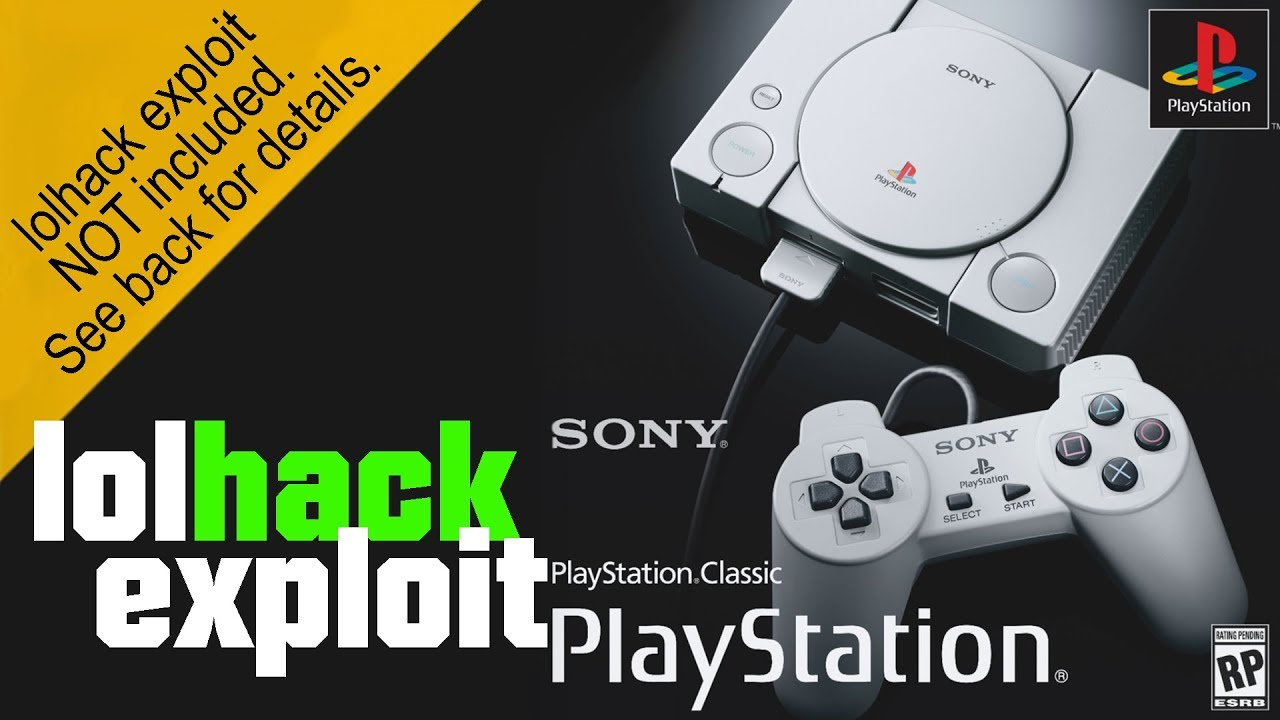 Playstation Classic is hacked! | lolhack exploit | Showcasing simple mod -  Please read description!