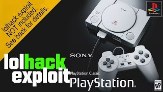 Playstation Classic is hacked! | lolhack exploit | Showcasing simple mod - Please read description!